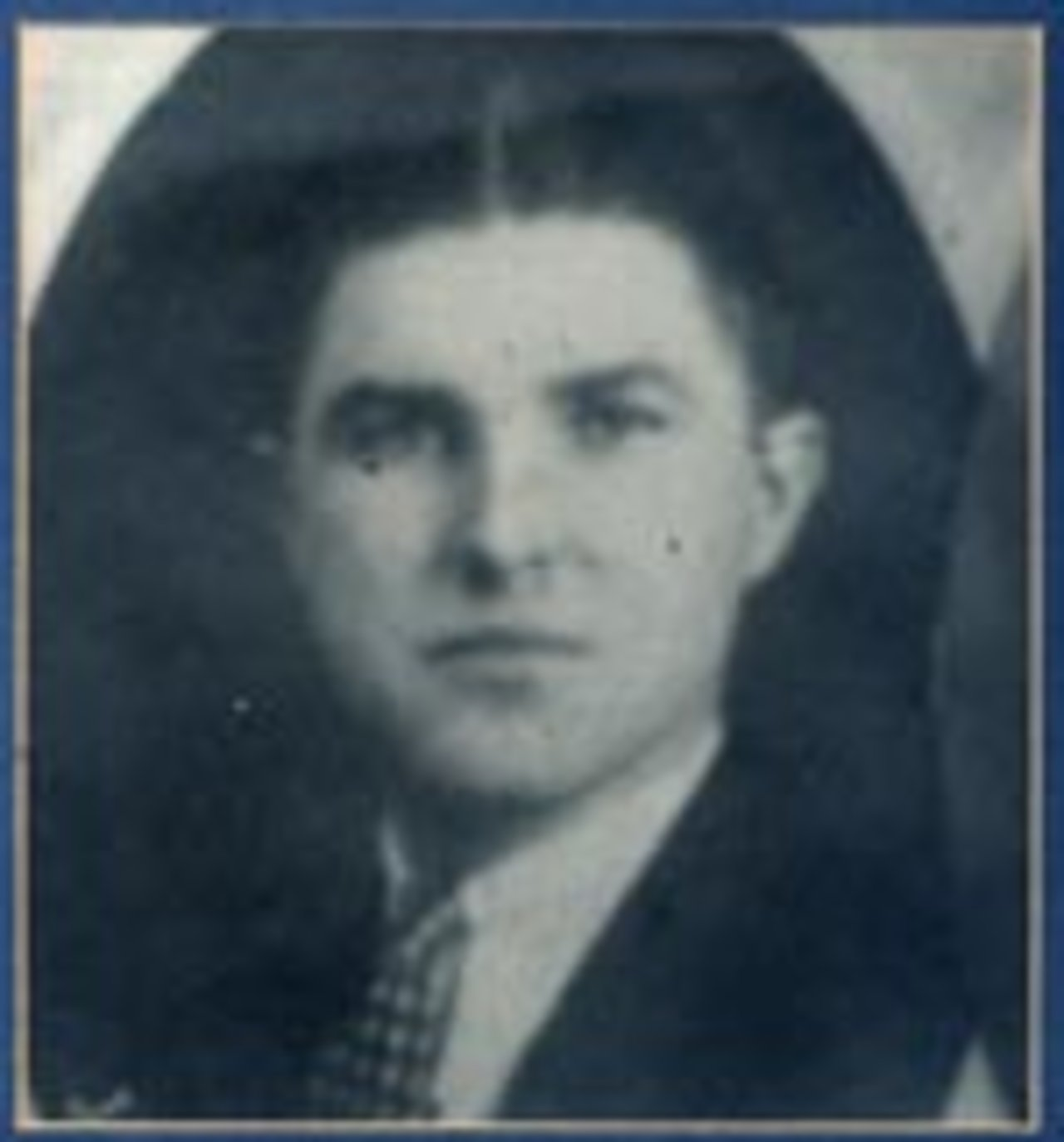 rooper Jerome B. Nugent, 25, died on October 13, 1933 from a fractured skull caused when he was thrown from his motorcycle on the Forestville Sheridan Road near Sheridan, Chautauqua County. At the time of the accident, Trooper Nugent was assigned to patrol the Lake Shore area of the Sheridan station. While on patrol, a large collie dog ran from a farm house directly into the front wheel of his motorcycle. Trooper Nugent was taken to Brooke Memorial Hospital in Dunkirk, but succumbed due to injuries.