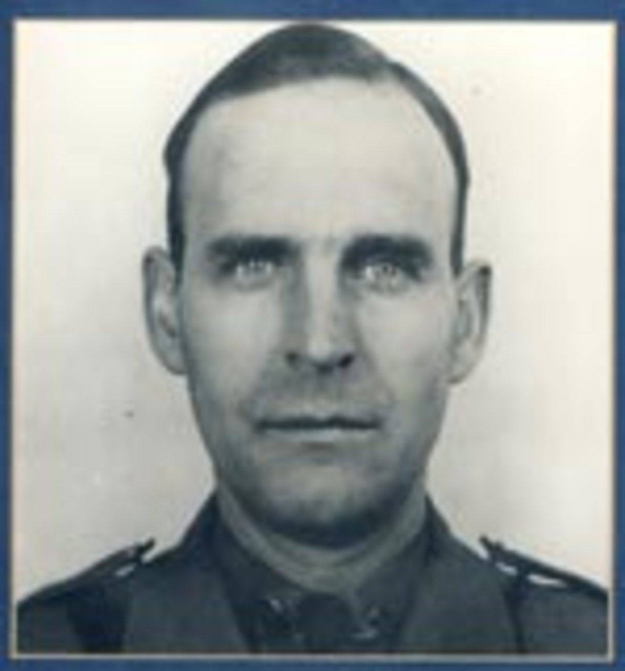 "Sergeant Harry A. Adams, 55, died on September 1, 1951, while directing traffic at the scene of an accident. Sergeant Adams, in charge of an accident investigation on Sawyer Road near Albion, was assisting with traffic control when a motorist passing through the accident scene struck and killed him.  Sergeant Adams had a lengthy career with the Division of State Police at Troop ""A"". He was the Albion Station Commander at the time of his death."