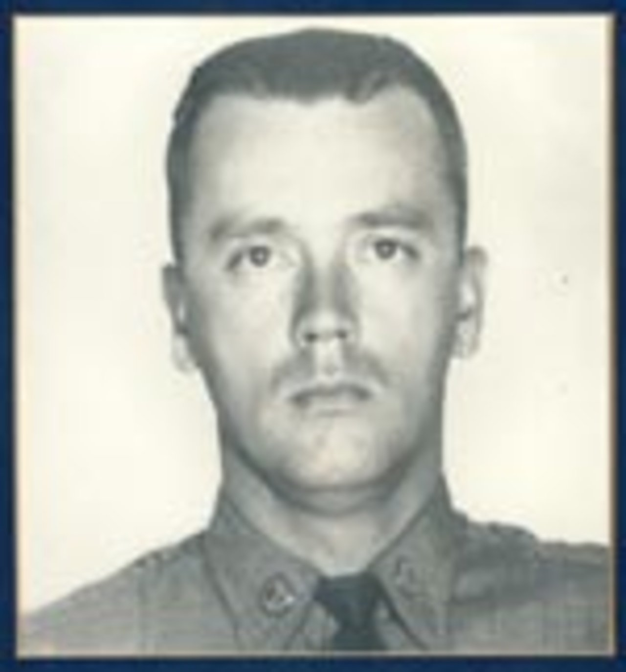 Trooper James D. Conrad, age 30, was killed instantly on November 11, 1966 when a tractor trailer made a left hand turn into the path of Trooper Conrad's vehicle on Route 15 near Bath. As a result of an investigation, the truck driver was charged with failing to yield the right-of-way.